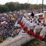 5.10.2011r. na Jasną Górę przyjechało około 19 000 pielgrzymów